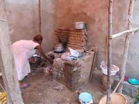 Cooking for the Christmas meal is a daunting task on a charcoal fire. Charcoal is slow, expensive and not sustainable, as is attested to by the barren mountains where most of the trees have gone into charcoal. We are looking at an alternative cooking source.